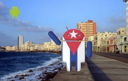 Android en Cuba.