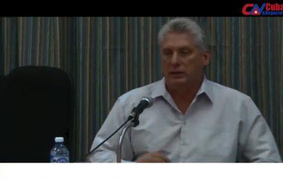 Miguel Díaz-Canel sobre algunos negocios actuales en Cuba