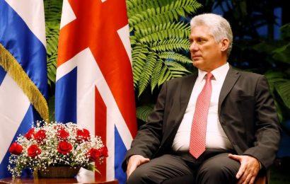 Miguel Díaz -Canel Bermúdez, asiste al Foro de Negocios Cuba-Reino Unido